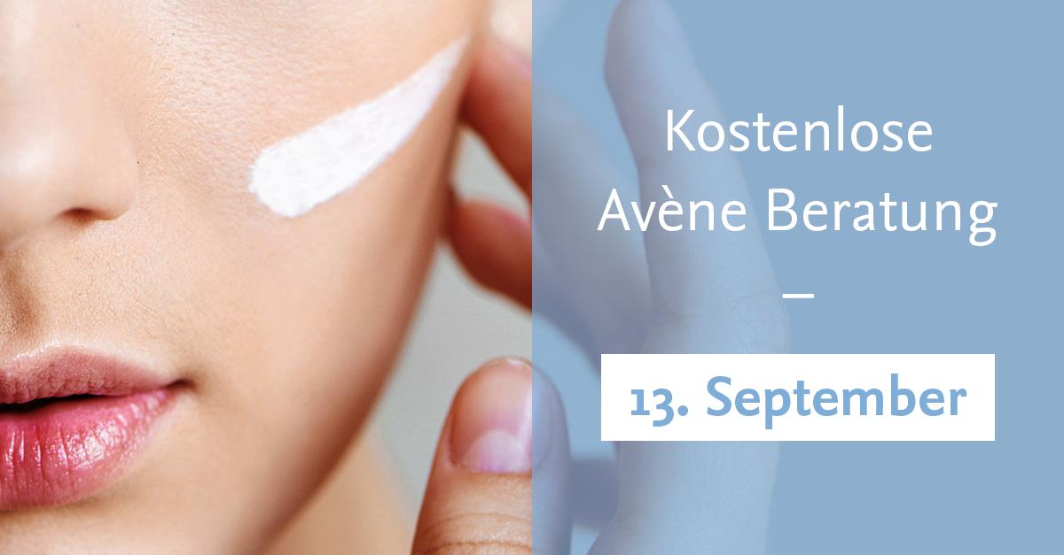 Kostenlose Hautanalyse & -Beratung von Avène